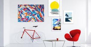 Tableau déco moderne : adoptez une déco murale contemporaine | CM CREATION
