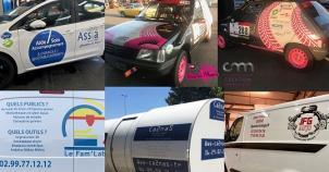 CM Création Covering || Marquage Publicitaire de véhicules