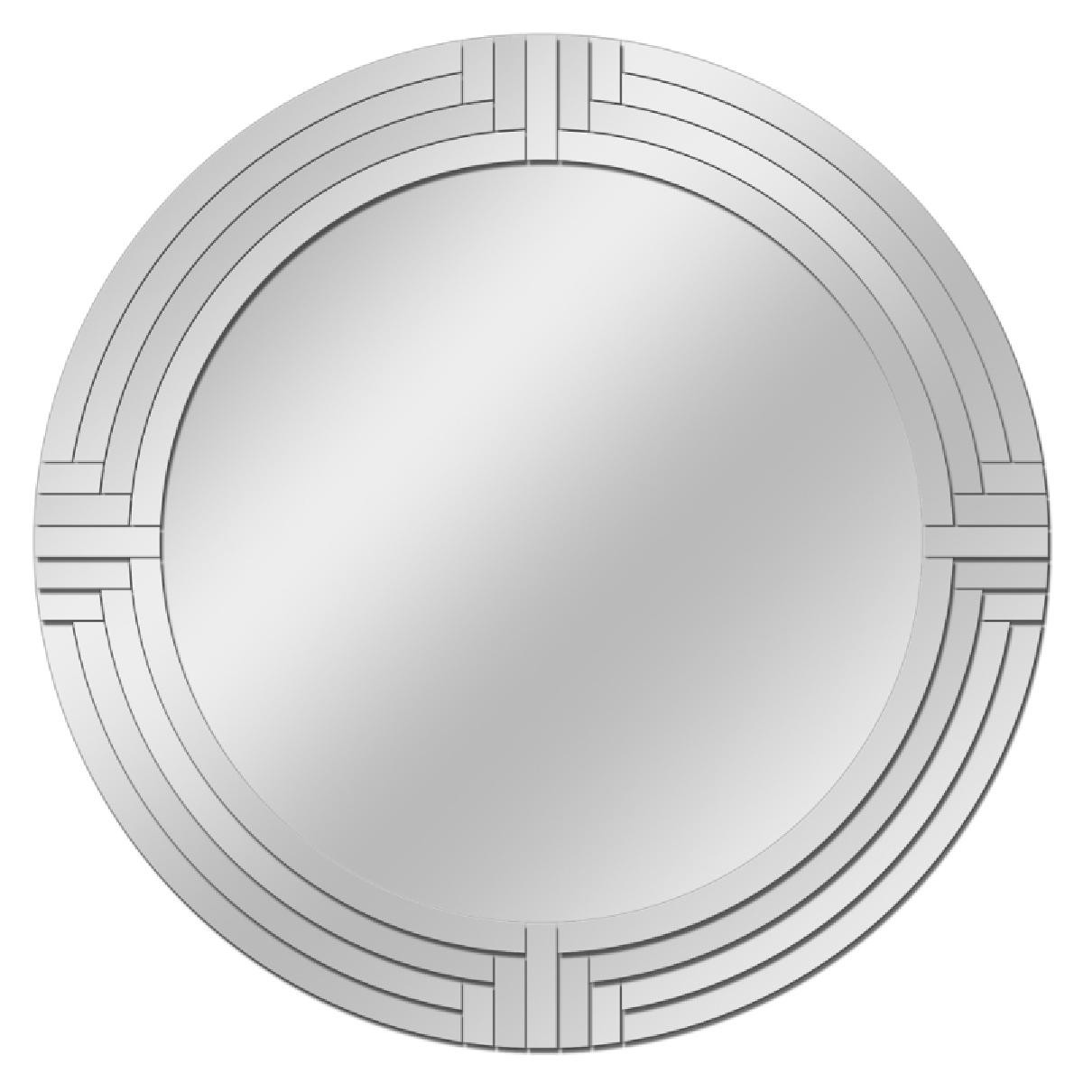 Miroir deco phoebus rond cm cm collection for Miroir rond 80 cm