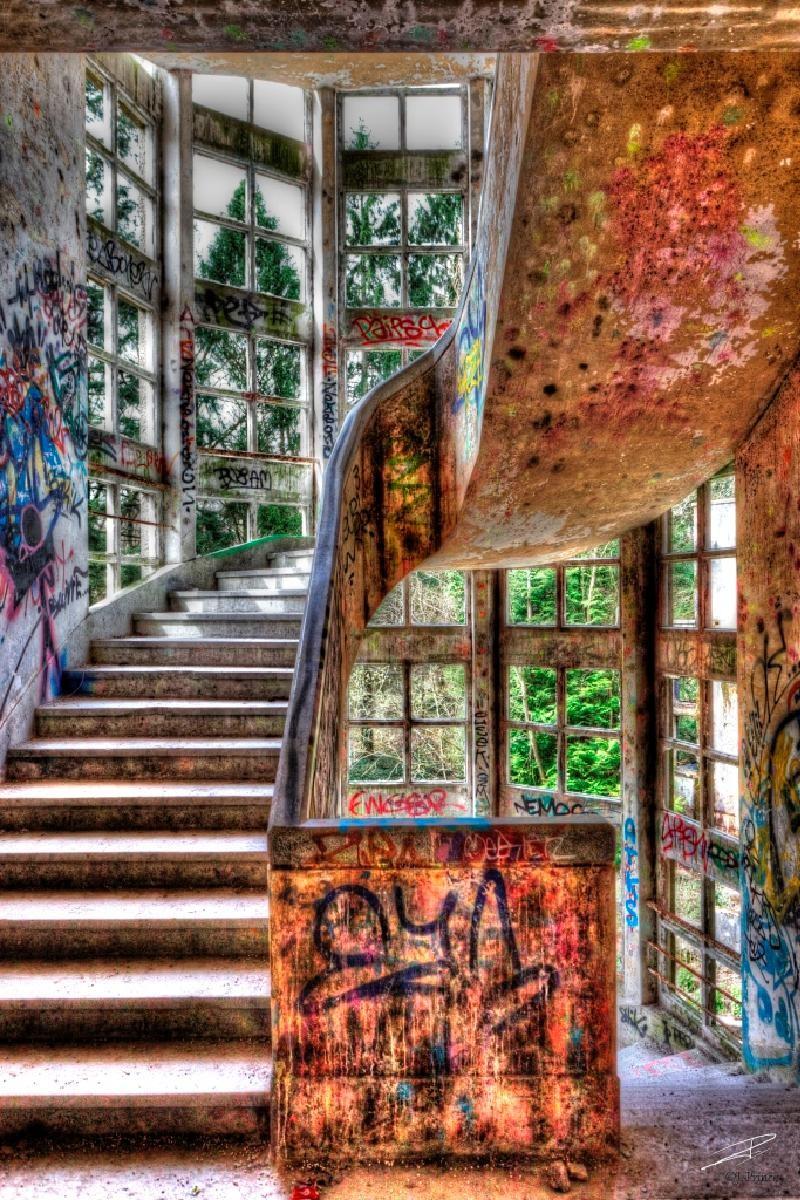 jp mystique escalier -