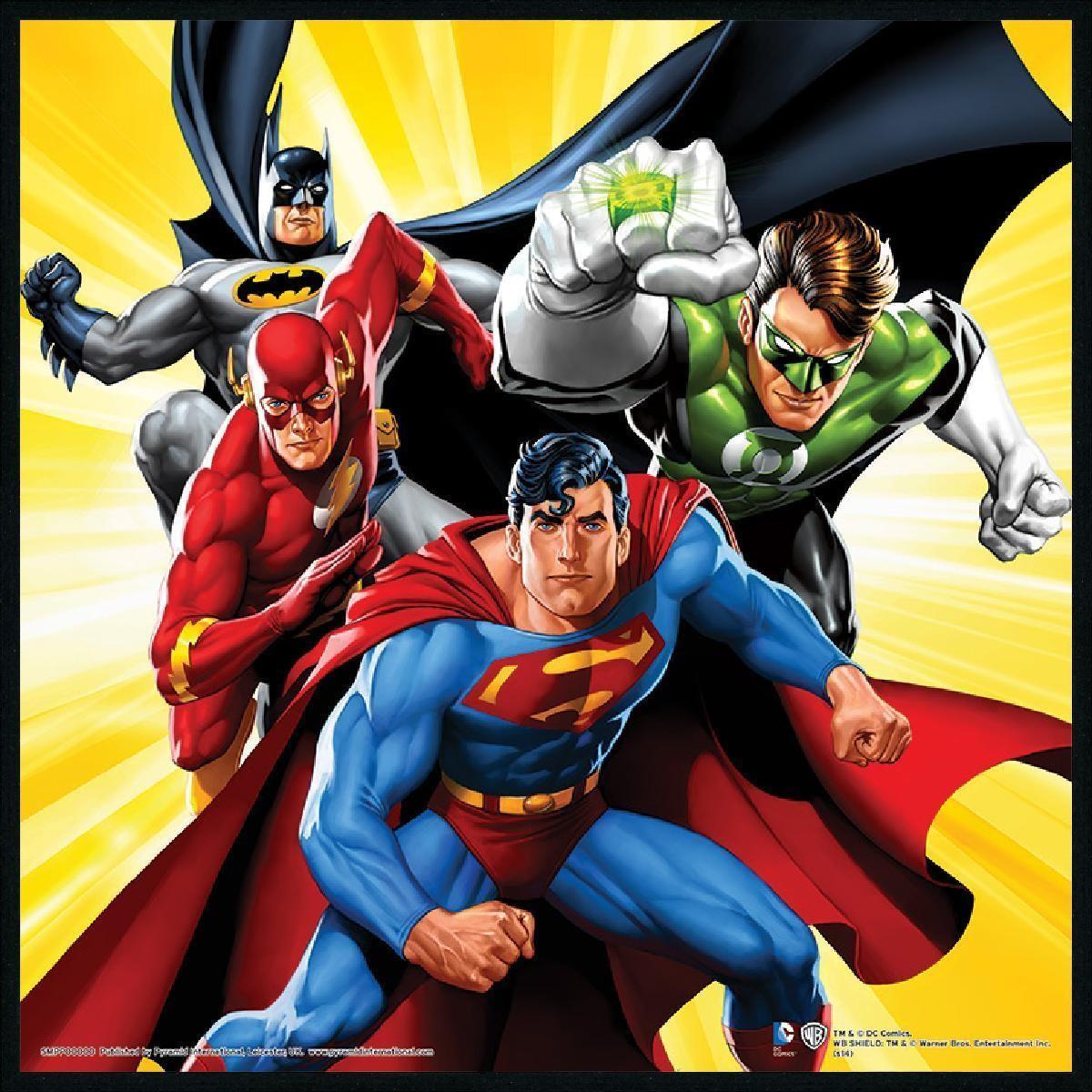 justice groupe comics -