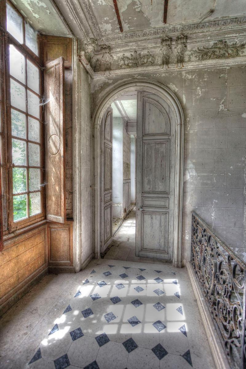 the corridor -