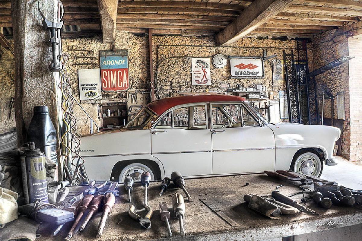 vintage car -