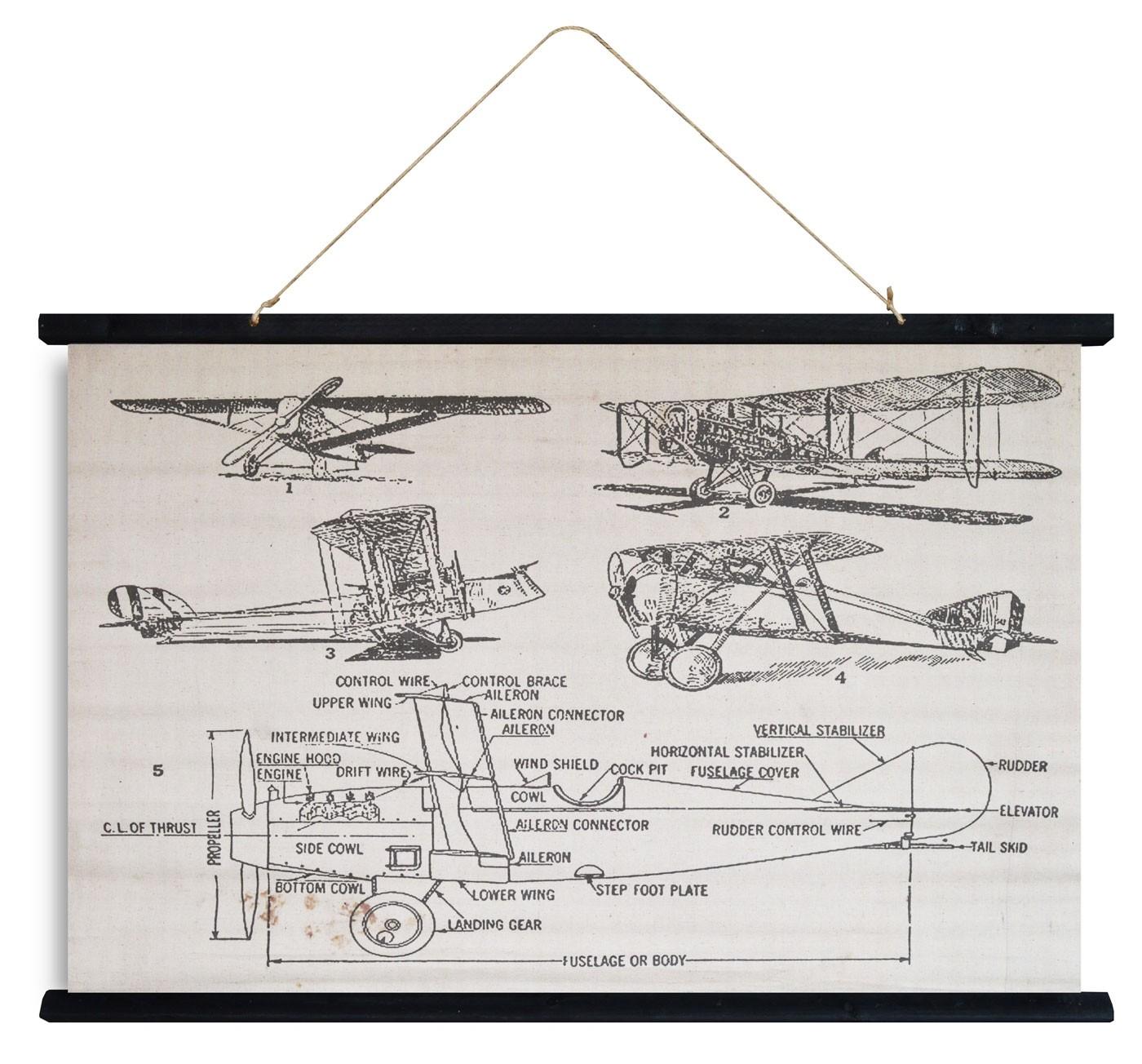 kakemono aviator 62x94 -