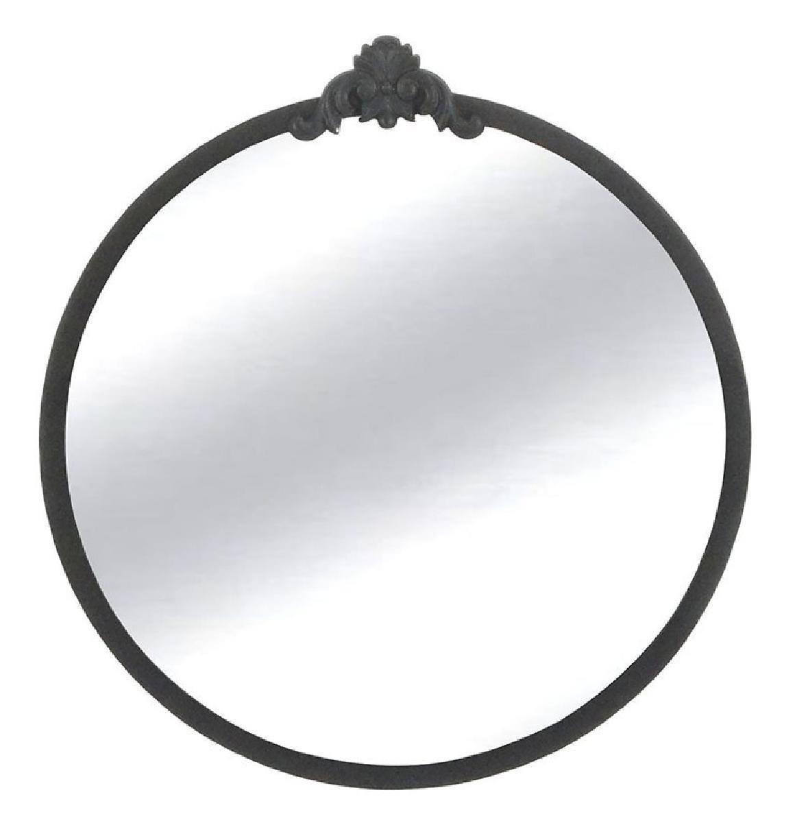 miroir metal bali 50x53,5x3 cm -