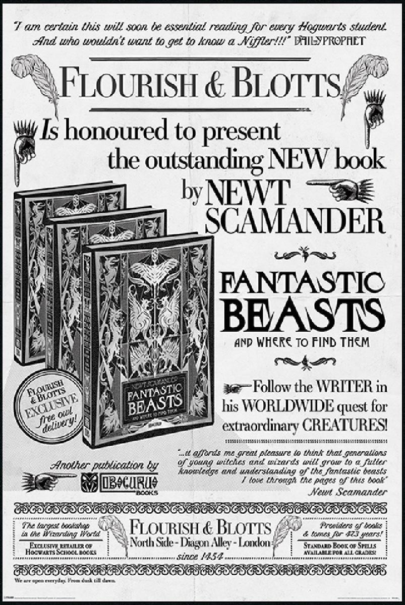 fantastic beasts floutish and blotts -