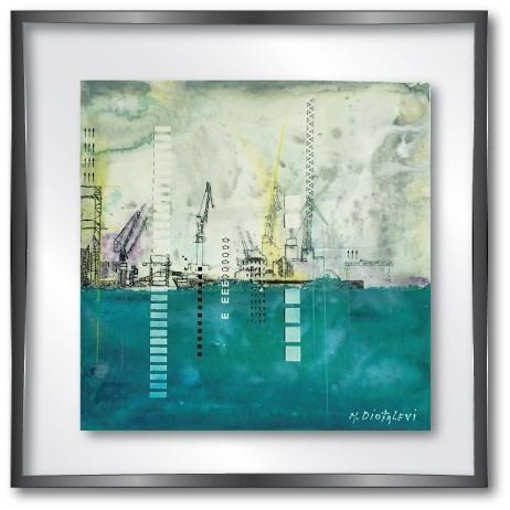 vitrine md dock green -