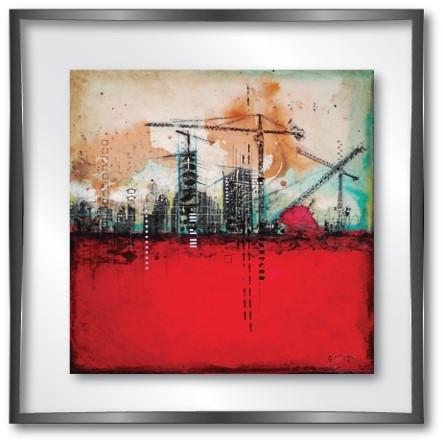 vitrine md dock red -