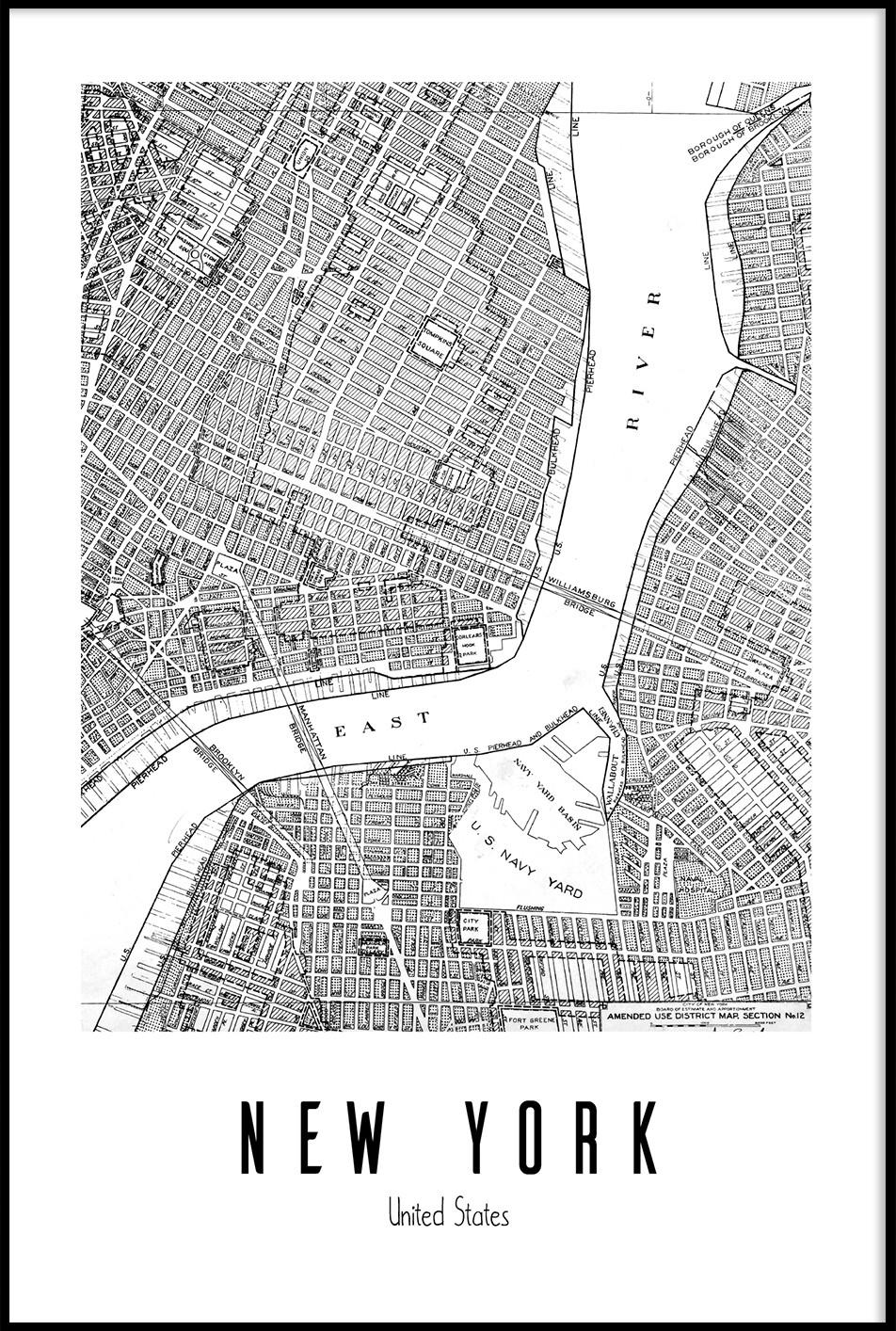 map ny -