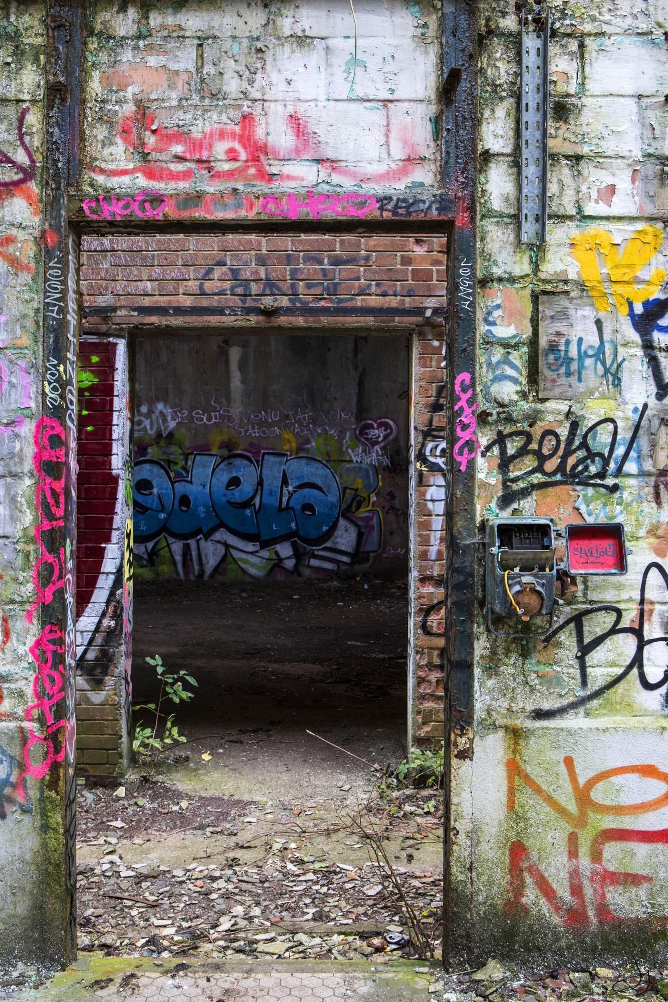 door sign -