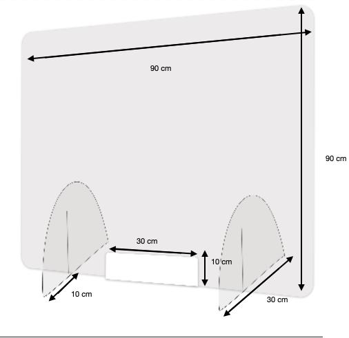 Protection Plexiglass Grand Format -