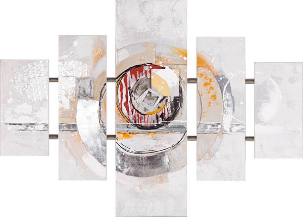 toile structure circle 90x126 cm