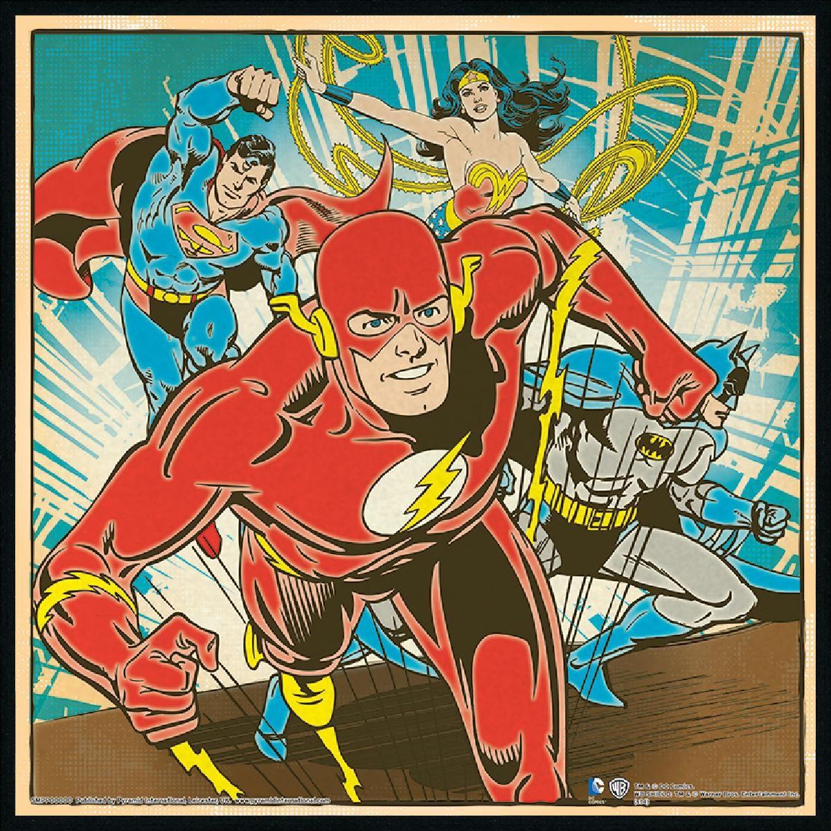 justice retro comics