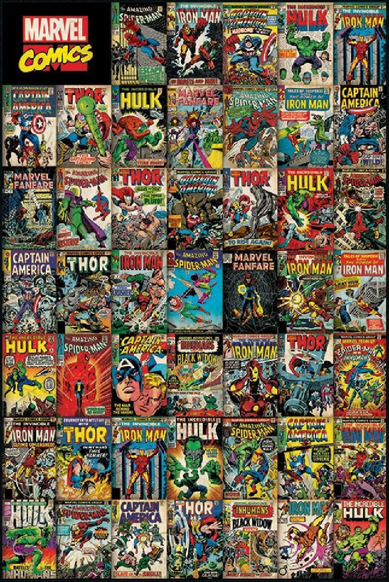 marvel avengers cover 61x91.5