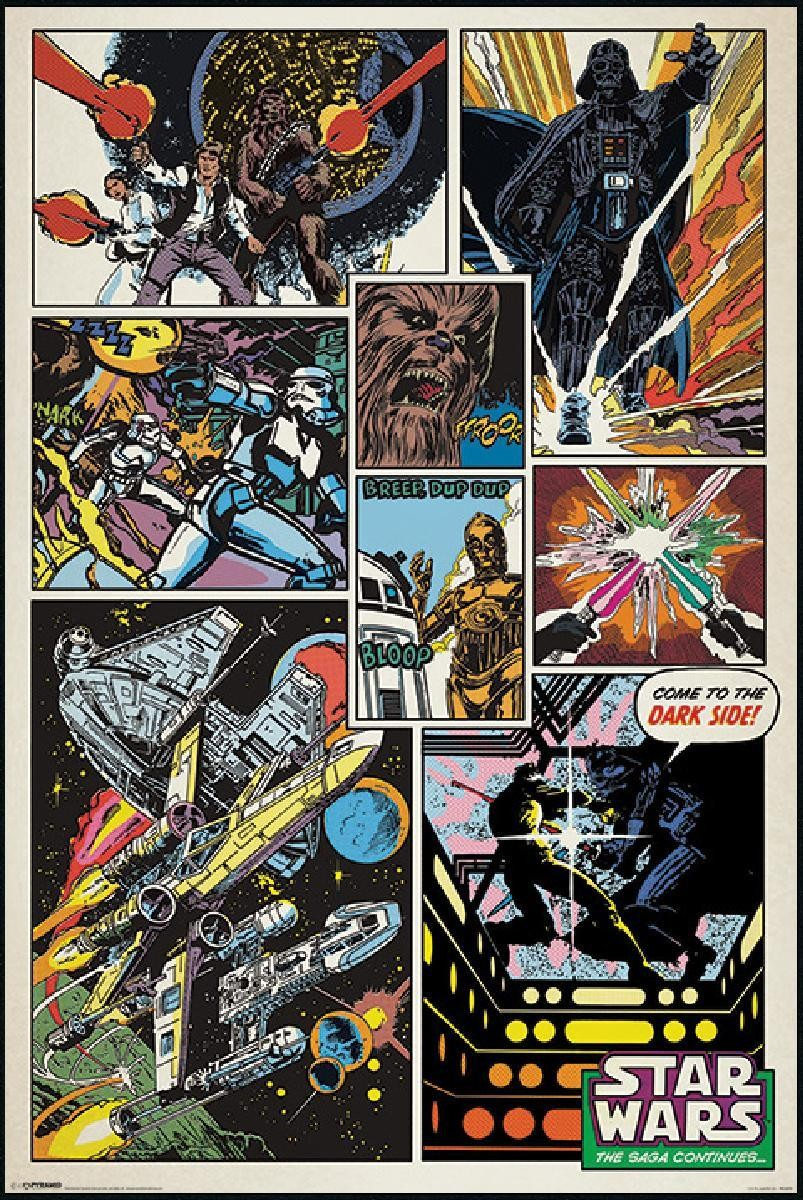 star wars retro comics