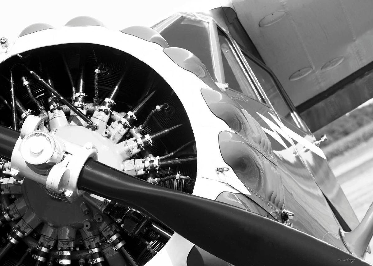 tableau avion moteur