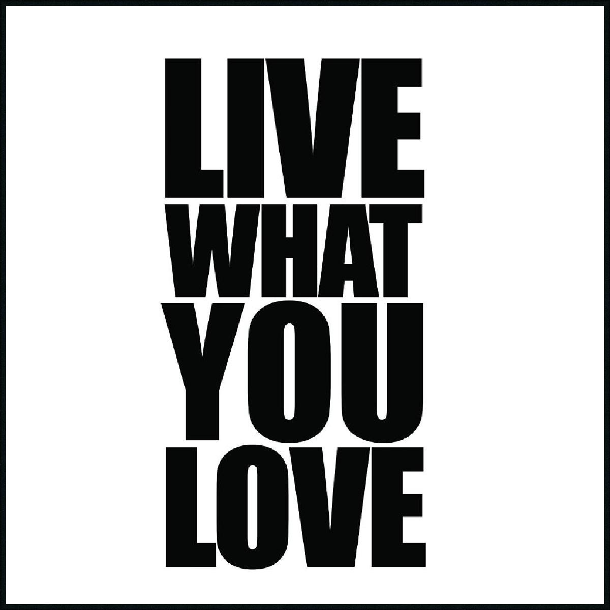 WORDING WHAT YOU LOVE