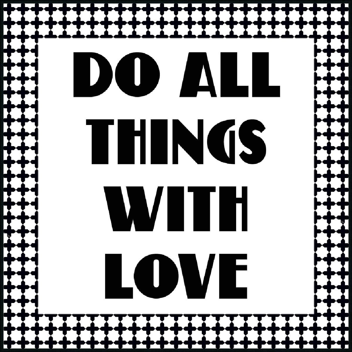 WORDING DO ALL THINGS