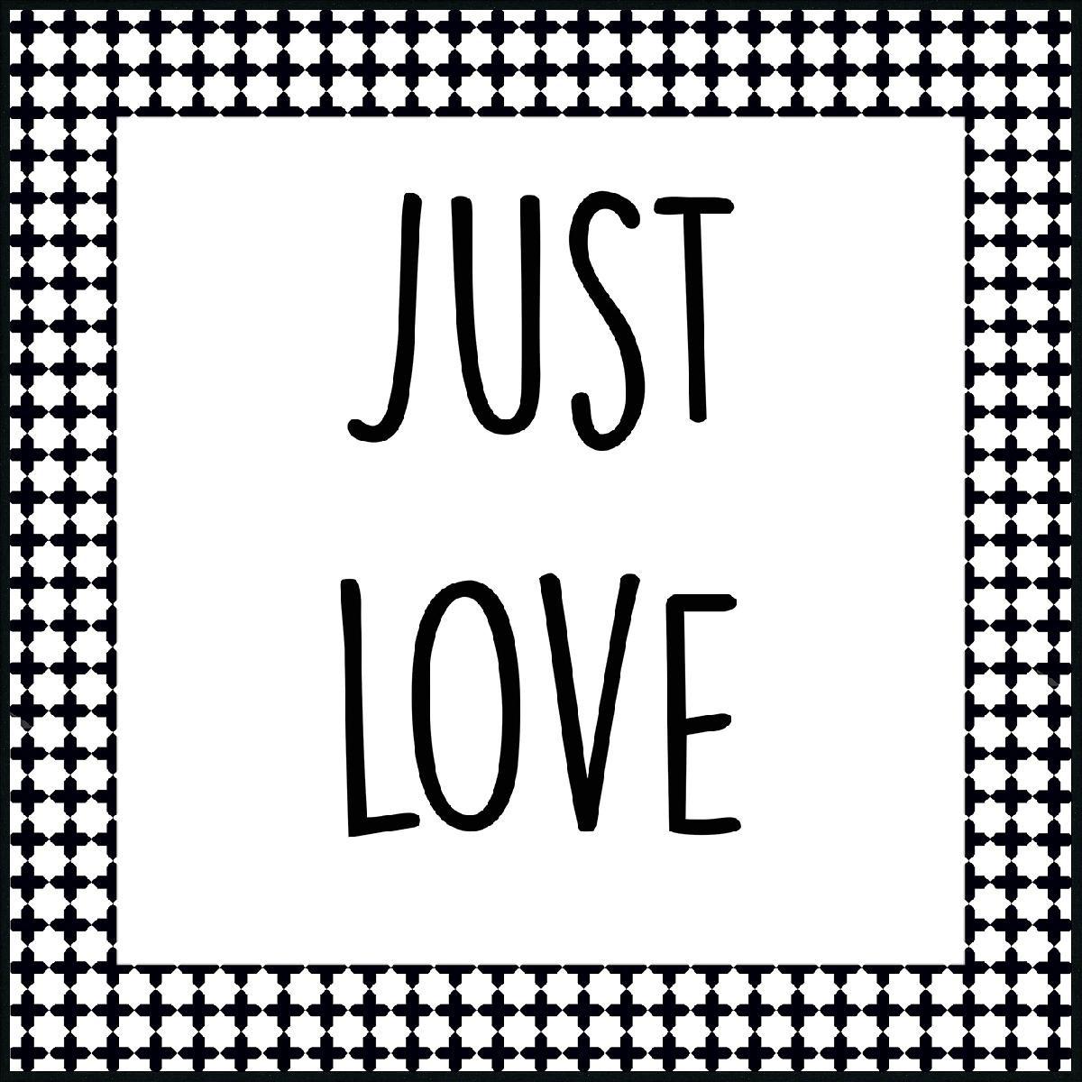 WORDING JUST LOVE