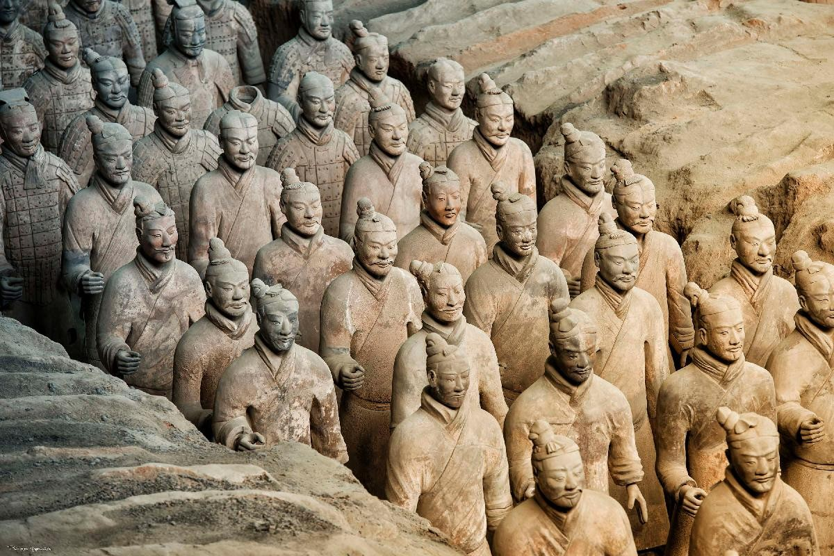terracota sculptures
