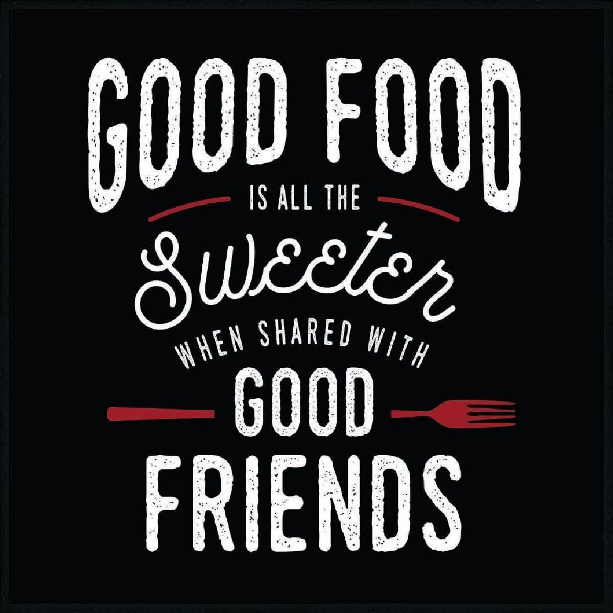 WORDING FOOD FRIENDS
