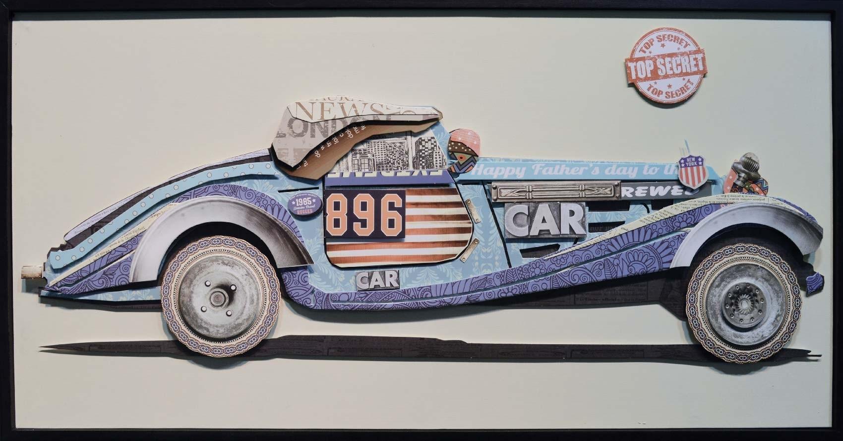 VITRINE CAR 80X40X4 cm