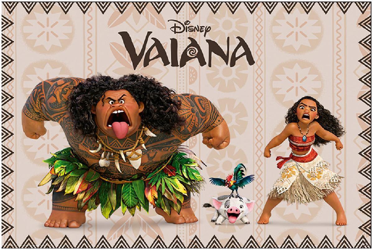 vaiana characters