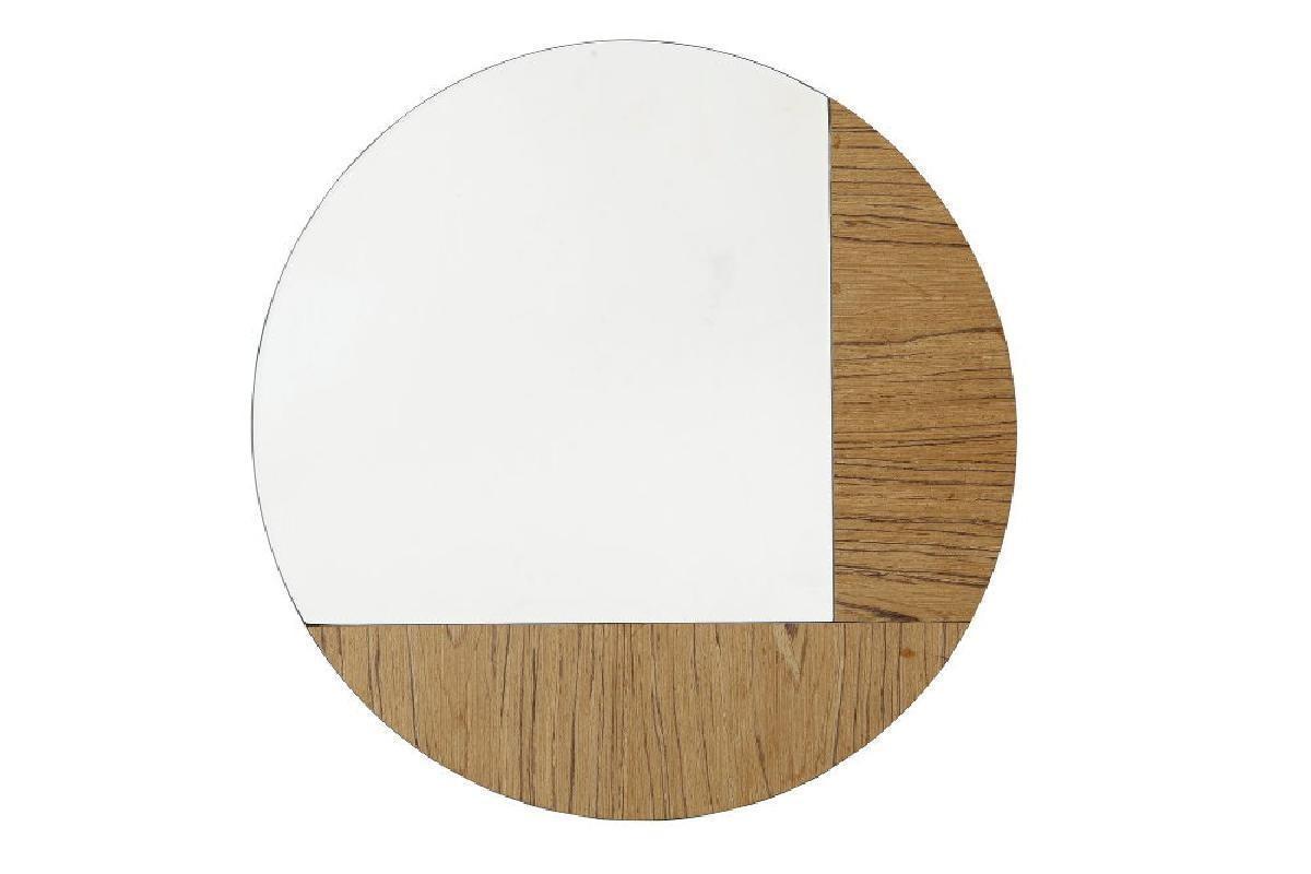 miroir bois deco karratu 50x50 cm