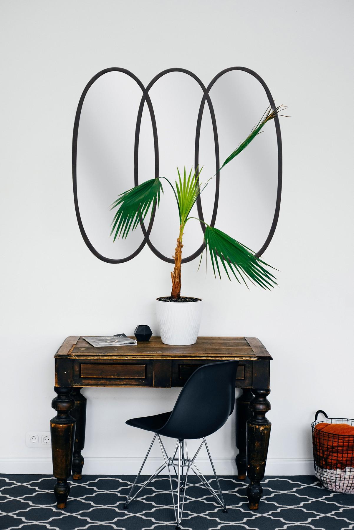miroir  metal tryptiq.atelier 80x85