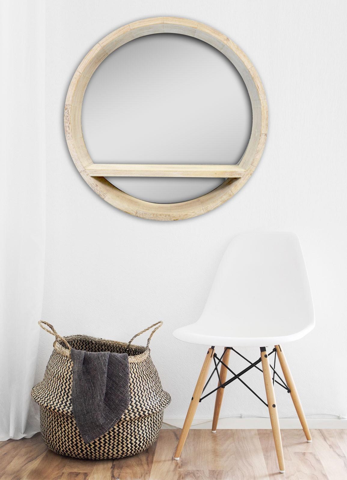 miroir alta etagere 50x50x10 cm