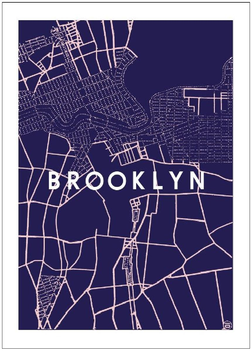 map brooklyn
