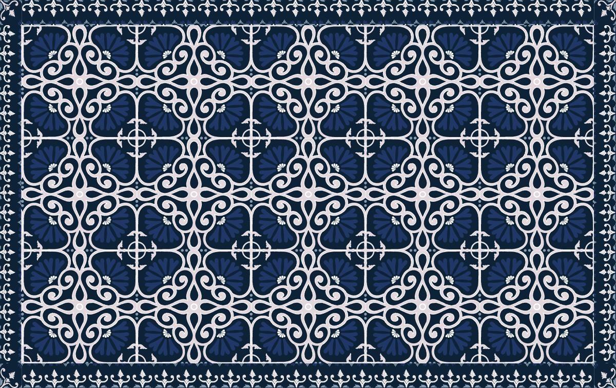 baroque bleu roi