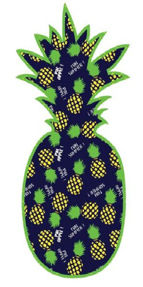 cut pinapple navy