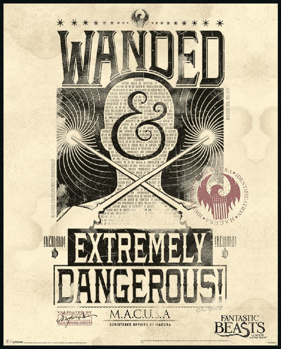 fantastic beasts extremely dangerous