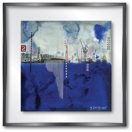 vitrine md dock blue