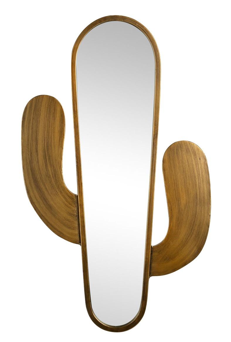 miroir acier cactus 46x76x2,0 cm