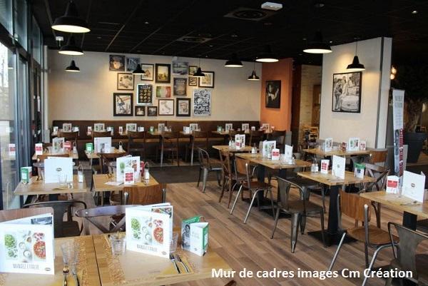 Déco restaurant : transformez les murs de votre resto | CM CREATION