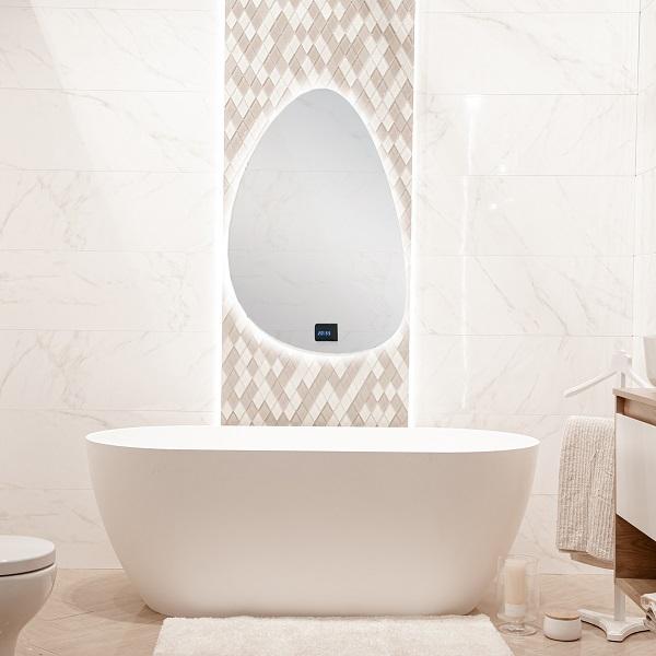 Idée déco salle de bain : nos tapis et miroirs | CM CREATION